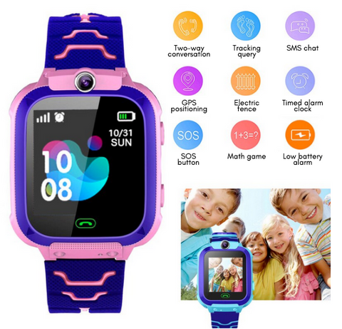 capabilities of kids GPS smart watch