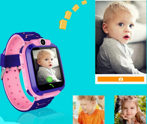 camera and chatting on kids GPS smart watch phone