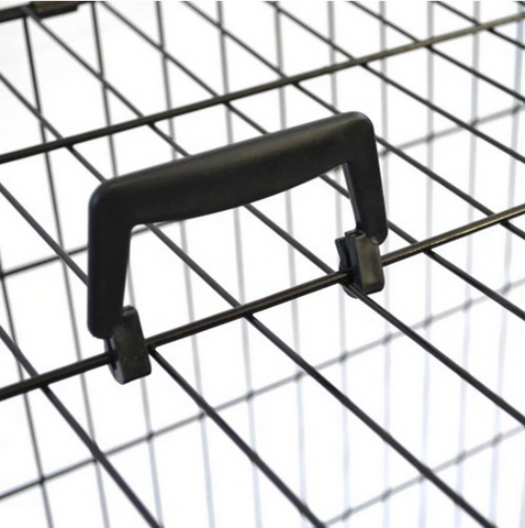handle of portable large dog kennel crate
