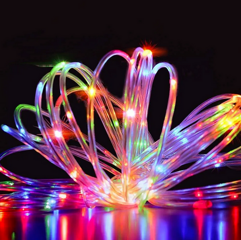 colorful rope string fairy lights 39 feet