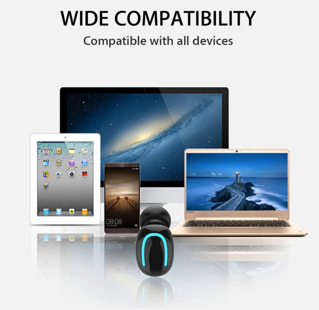 wide compatibility with all devices for noise cancelling earphones