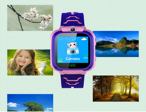 [CLOSEOUT] WhizKids™ GPS Kids Smart Watch Tracker Phone Touchscreen Waterproof with Camera & Voice Chatting for Children