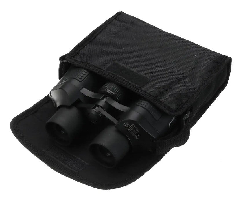 black carrying case to support HD vision binoculars
