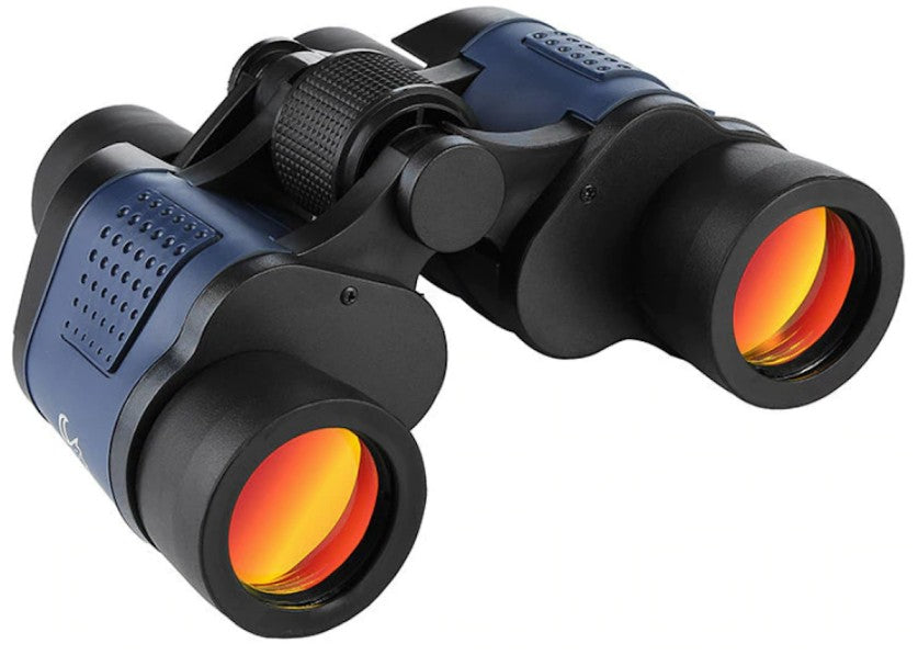 night vision binoculars for birding with tinted lenses side view