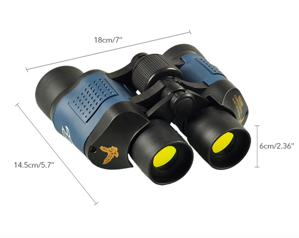 dimension sizes for night vision binoculars