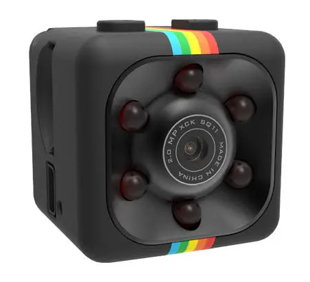 TinyTech™ Mini Action Cube Camera for Vlogging & Sports with Night Vision
