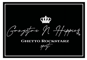 Gangstaz N Hippies is a street/luxury fashion brand Outta West Compton California powered by Rockstar Vuitton, Rykeis Beats. (Music Producer, Fashion Model, And Entrepreneur.)
