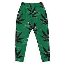 Load image into Gallery viewer, Green Weed Gangstaz N Hippies, Rockstar Vuitton Joggers
