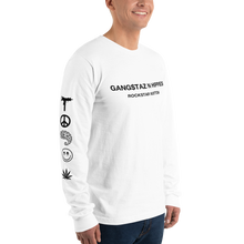 Load image into Gallery viewer, Gangstaz N Hippies, Rockstar Vuitton Long sleeve T-shirt