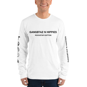 Gangstaz N Hippies, Rockstar Vuitton Long sleeve T-shirt