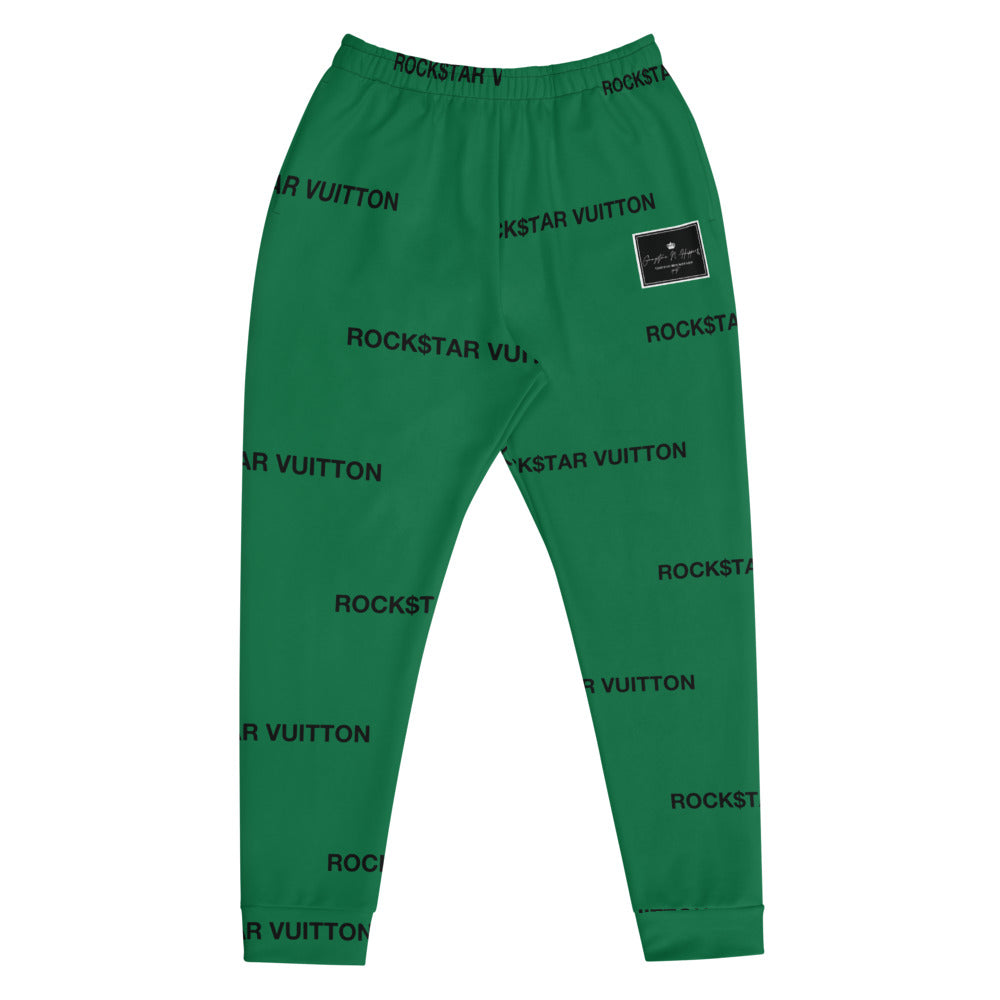 Green Gangstaz N Hippies, Rockstar Vuitton Joggers