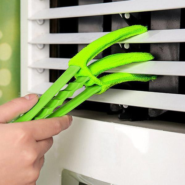 Removable Blind Window & Car Vent Cleaner