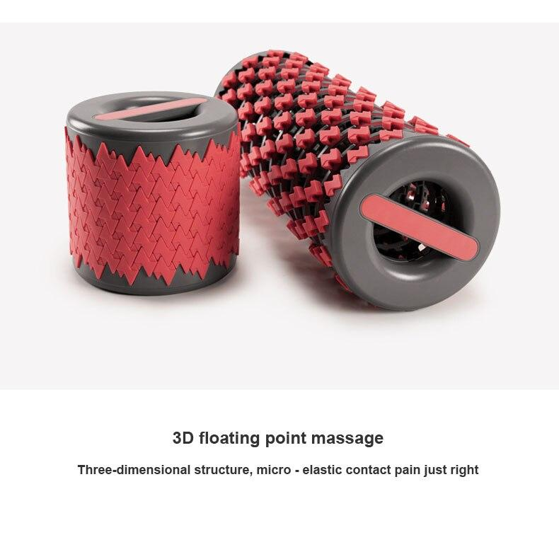 RollerToGo - Collapsible Muscle Massager Foam Roller