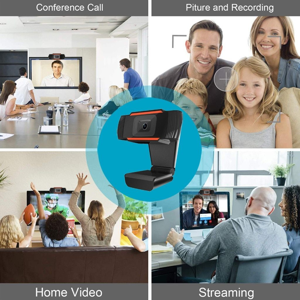 FullHD Webcam Video Conferencing 1080P