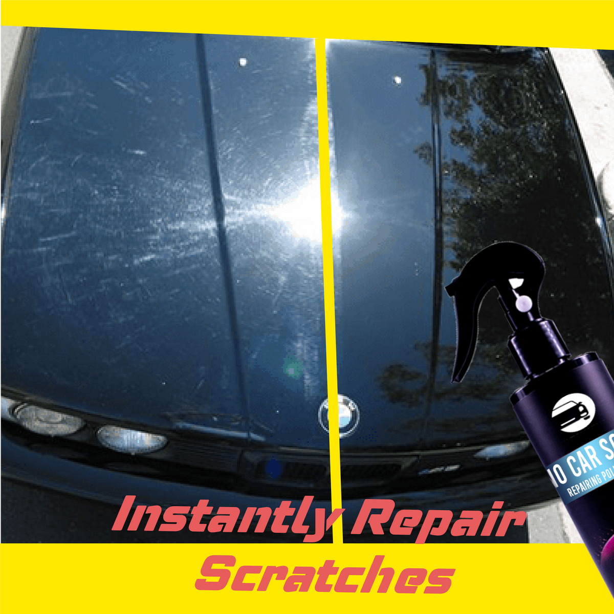 Nano Car Scratch Repairing Polish Spray