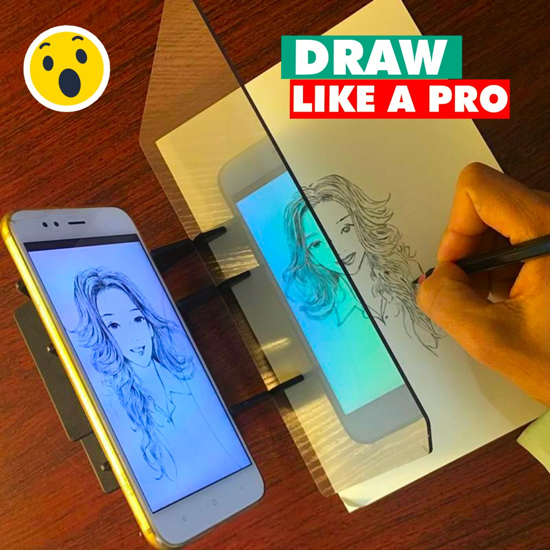 DrawEasy - Optical Tracing Board