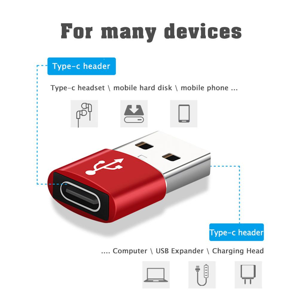 USB 3.0 Type A Male to USB 3.1 Type C Female (iPhone 12 Cable Converter)