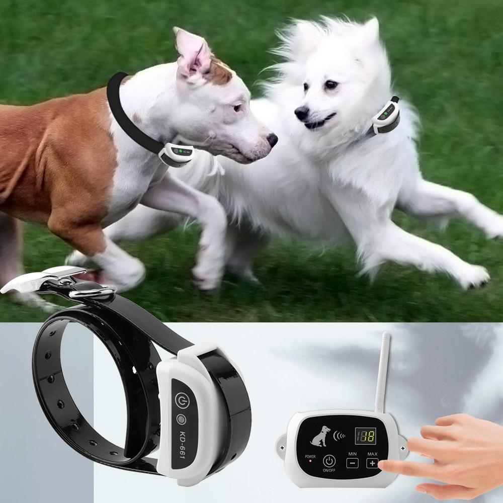 Electric Wireless Dog Fence with Collar