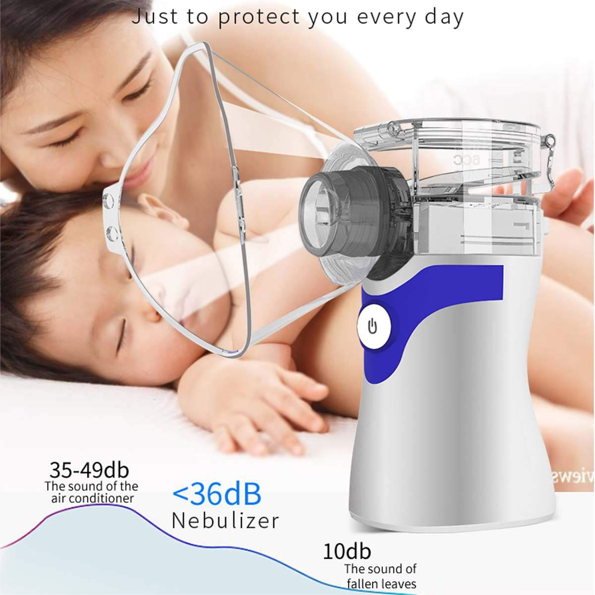 Portable Hand-held Nebulizer Unit