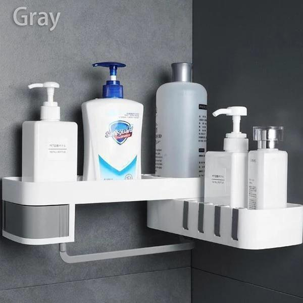 Nail-Free Shower Shelf Space Saver