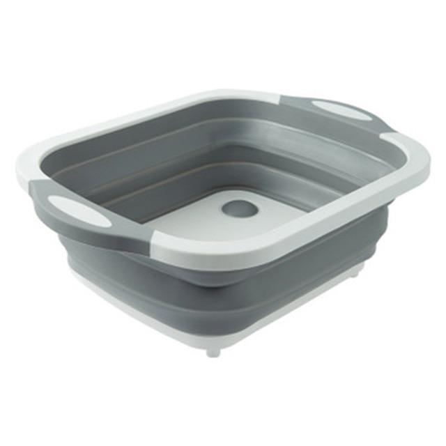 Multifunctional Foldable Drain Basket