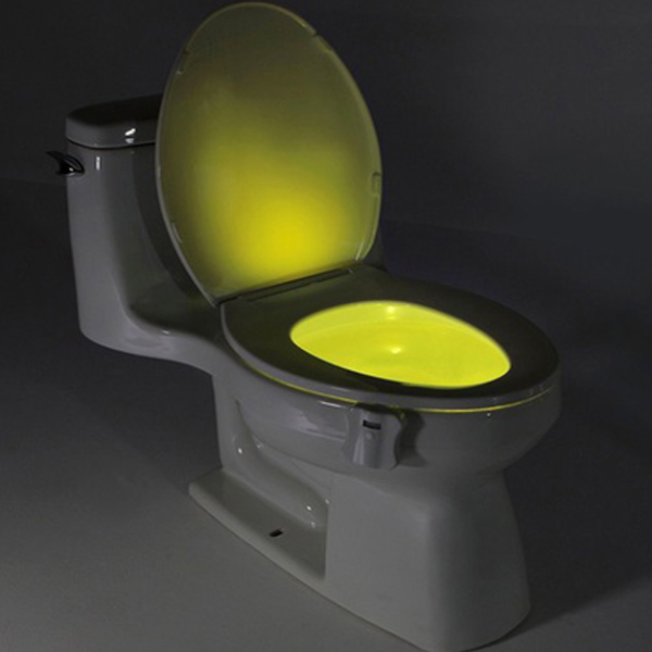 Color Led Sensored Toilet Potlight