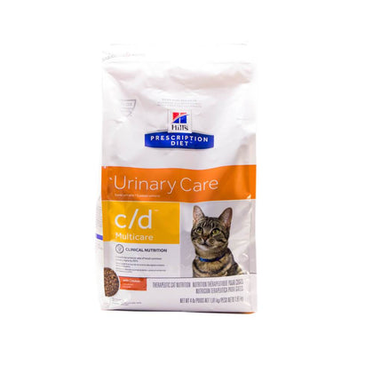 Alimento Para Gatos Hills CD Cuidado Uriniario Multicare Pollo