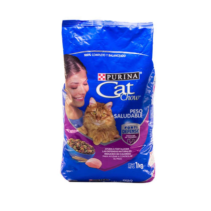 Alimento para Gatos Cat Chow Peso Saludable Forti Defense