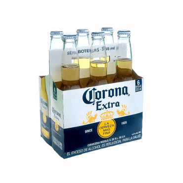 Cerveza Corona Six Pack 355 ml