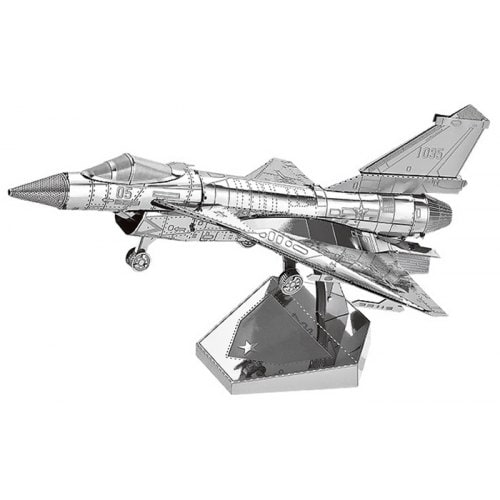 Puzzle 3D en Métal Avion Air Force J-10B - Puzzle Mania 3D