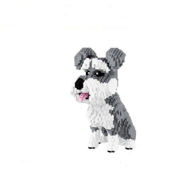 Blocs de Construction Chien Airedale Terrier - Puzzle Mania 3D