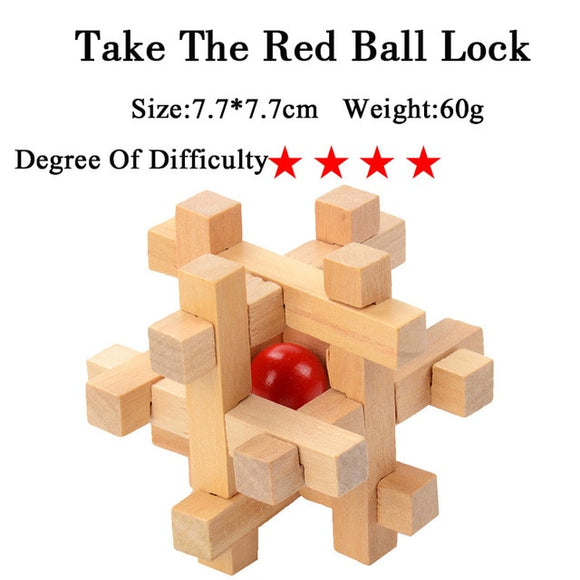 Take The RedBallLock - Puzzle Mania 3D