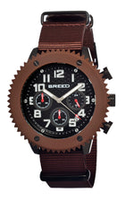 Breed Arnold Chronograph Men's Watch w/ Date  -  Black