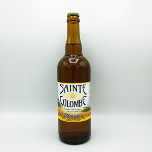 Bière bretonne Blonde 75cl Sainte Colombe