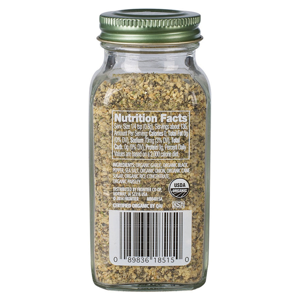 Simply Organic, Garlic Pepper (106g) - Hu Organics