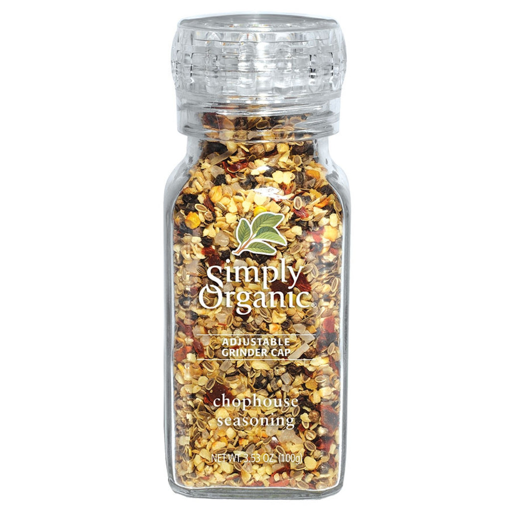 Simply Organic, Chophouse Seasoning (100g) - Hu Organics
