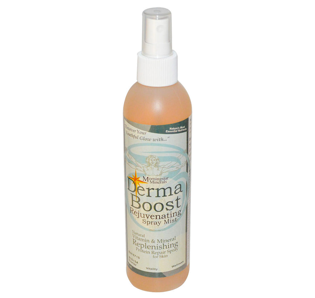 Derma Boost, Rejuvenating Spray Mist, Morningstar Minerals, 8 fl oz - Hu Organics