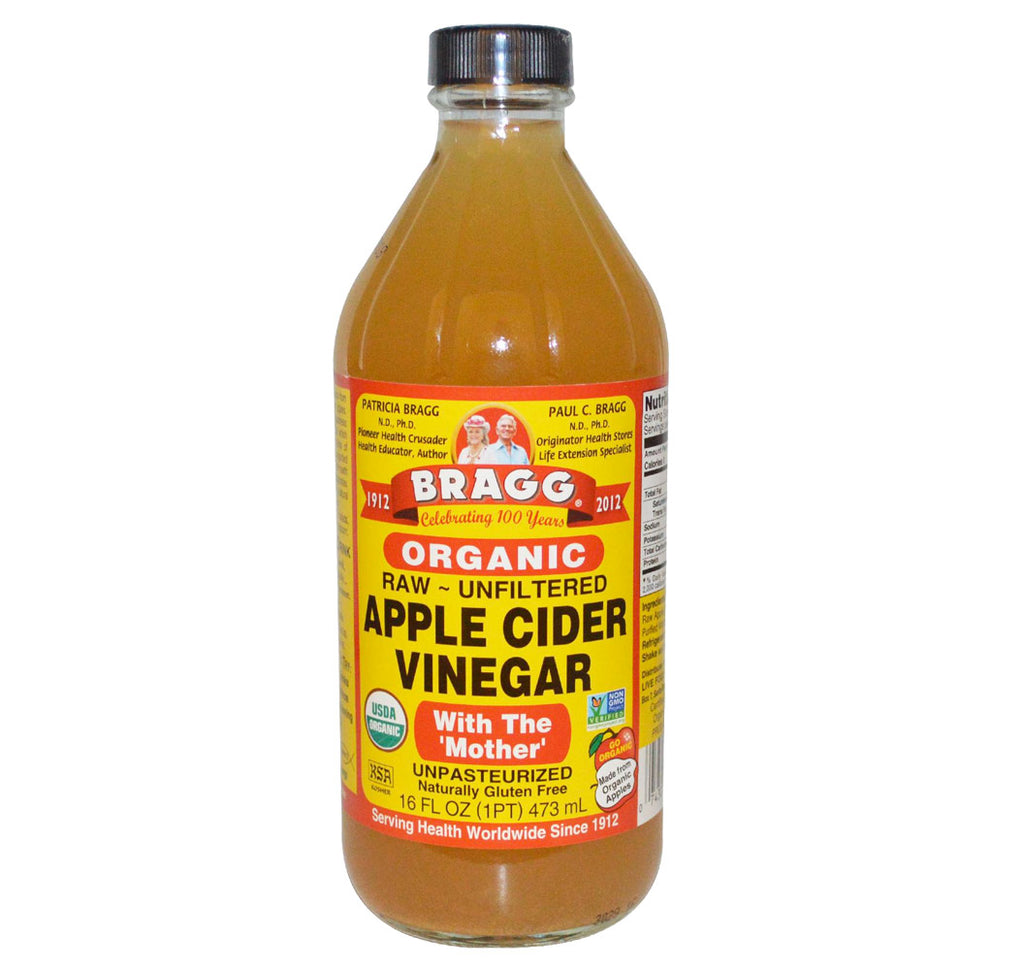 Bragg, Organic Apple Cider Vinegar, 16oz (473ml) - Hu Organics