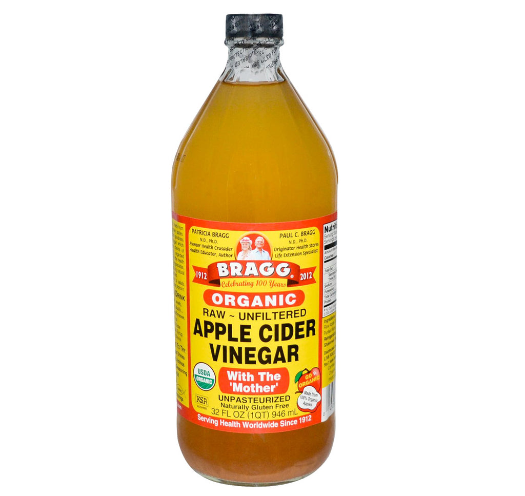 Bragg, Organic Apple Cider Vinegar, 32oz (946ml) - Hu Organics
