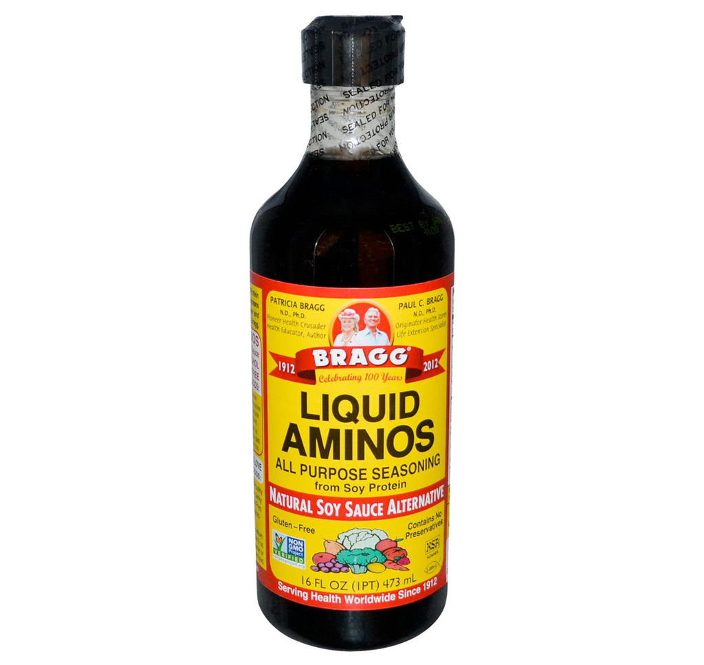 Bragg, Liquid Aminos Seasoning, 16oz (473ml) - Hu Organics