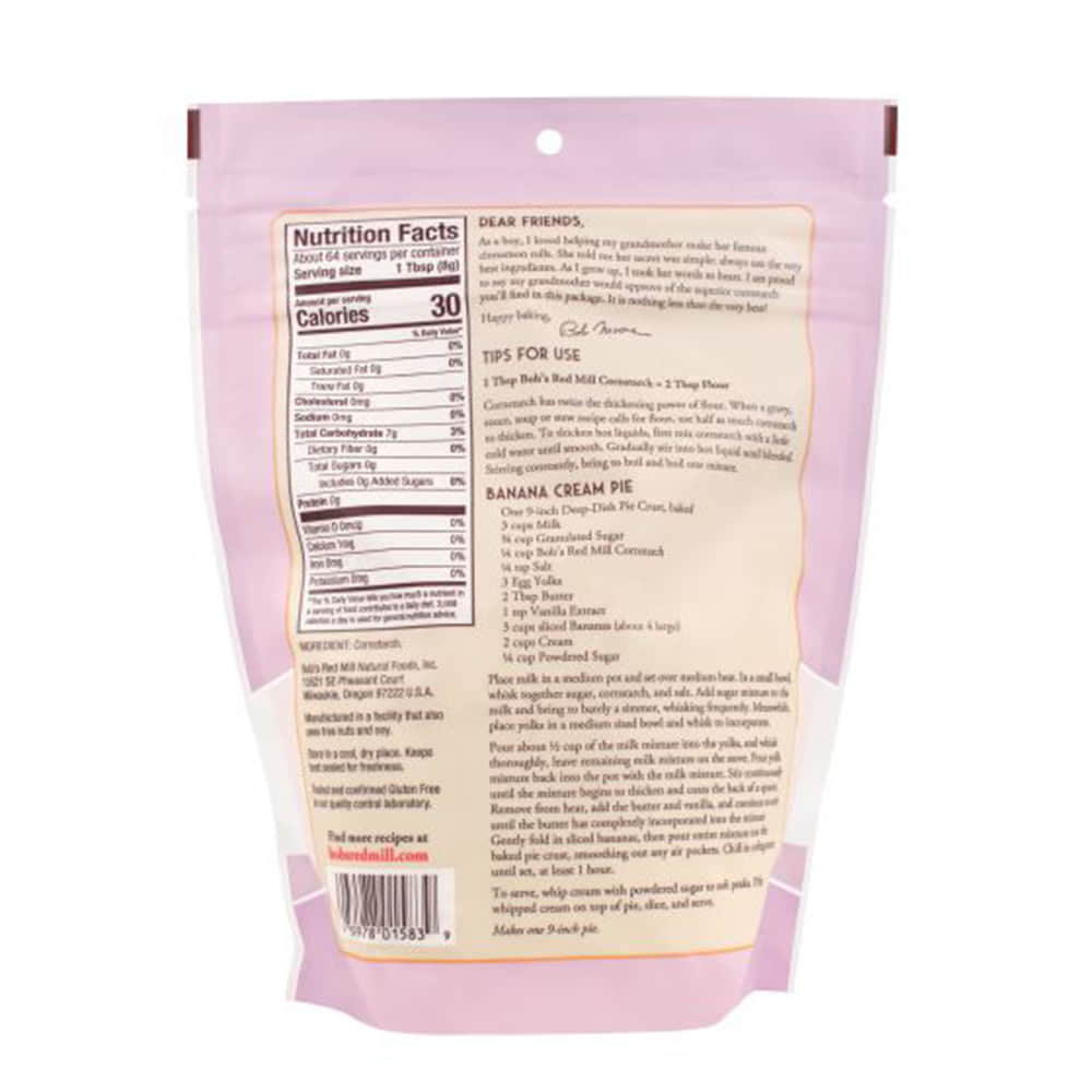 Bob's Red Mill, Corn Starch (510g)