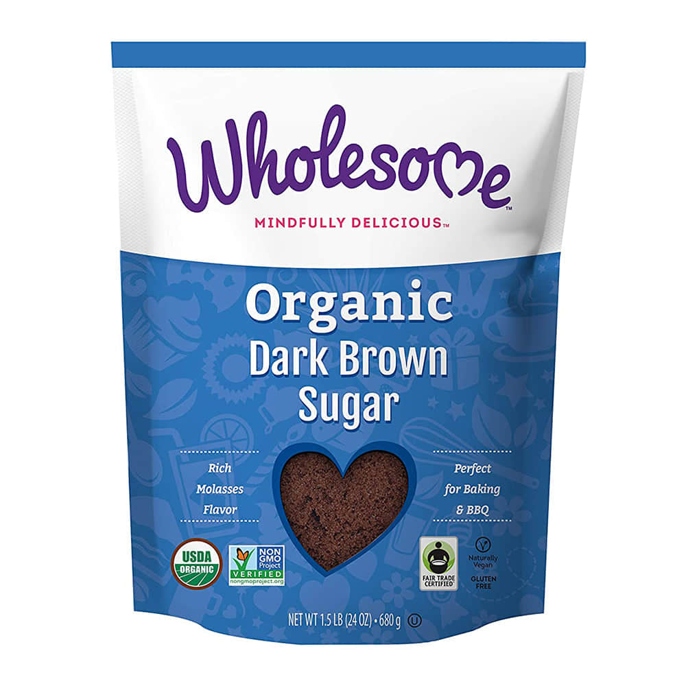 Wholesome, Organic Dark Brown Sugar (680g)