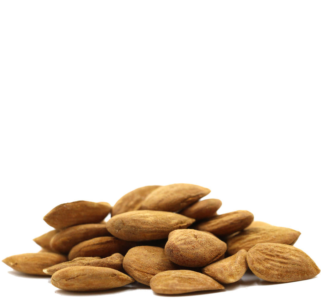 Organic Raw Almonds, Family Farm Organics (80g) - Hu Organics