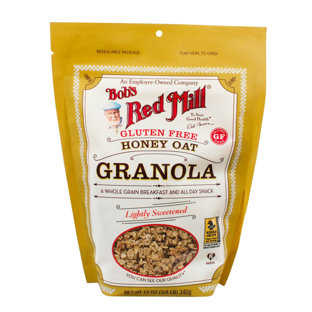 Bob's Red Mill, Gluten Free Honey Oat Granola (340g)