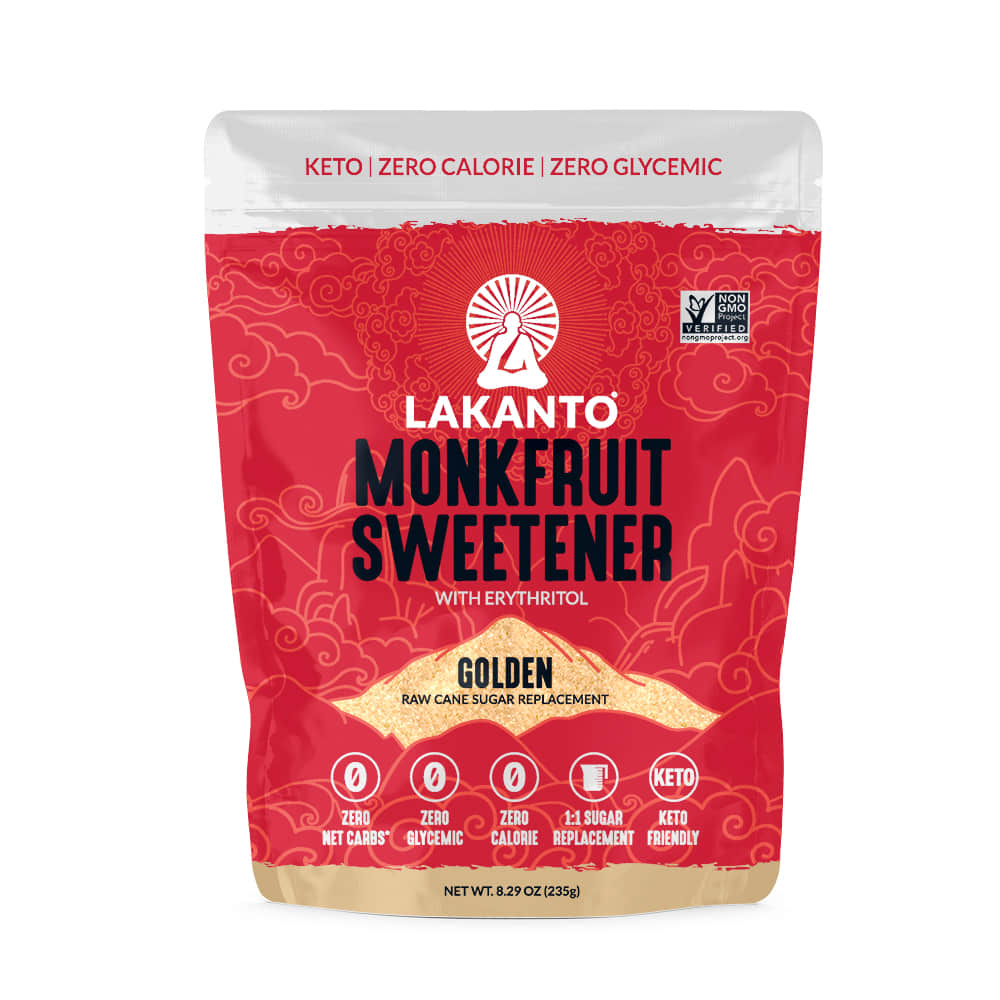 Lakanto, Monkfruit Sweetener, Golden (16oz)