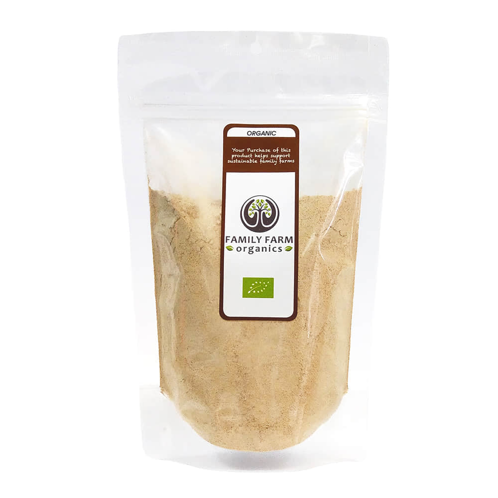 Organic Raw Maca Powder, Family Farm Organics (227g)