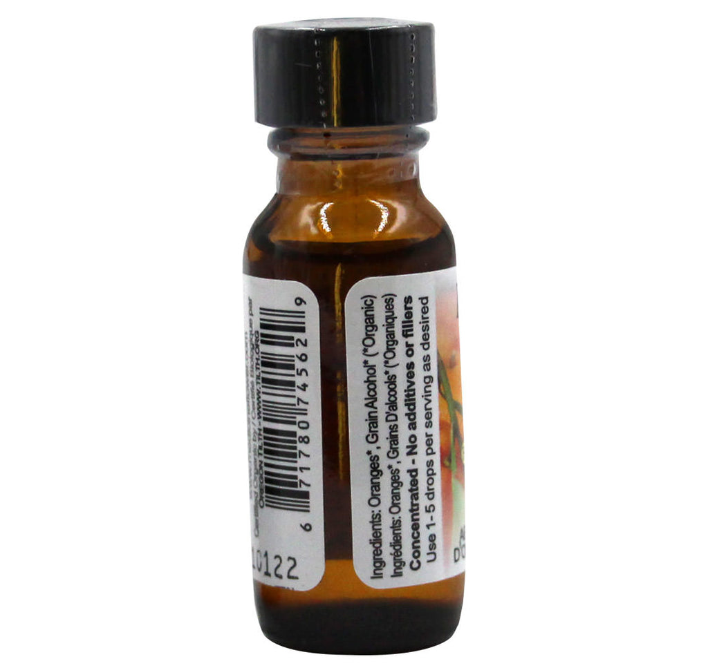 Medicine Flower Orange Flavor Extract (15ml) - Hu Organics