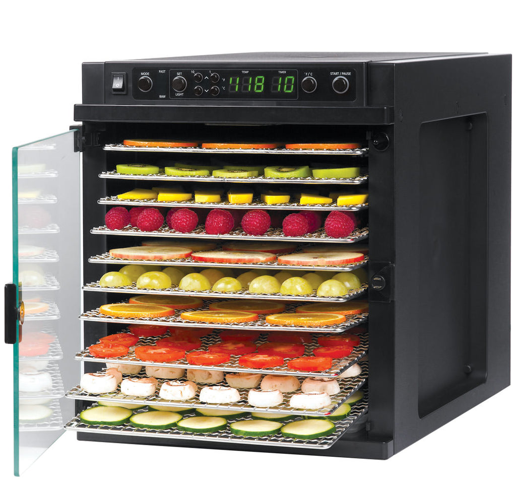 Tribest Sedona Express, SDE-S6780 Food Dehydrator with Stainless Steel Trays - Hu Organics