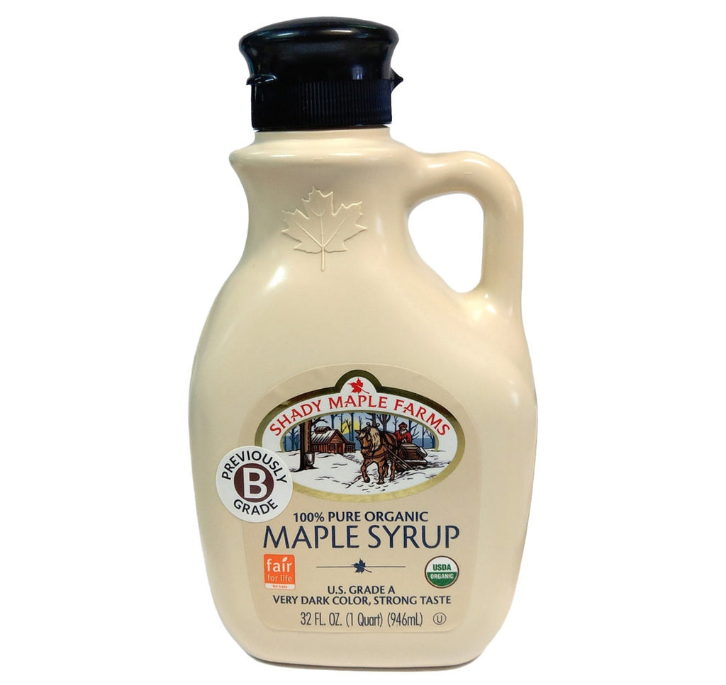 Shady Maple Farms, Organic Maple Syrup, Dark (946ml) - Hu Organics