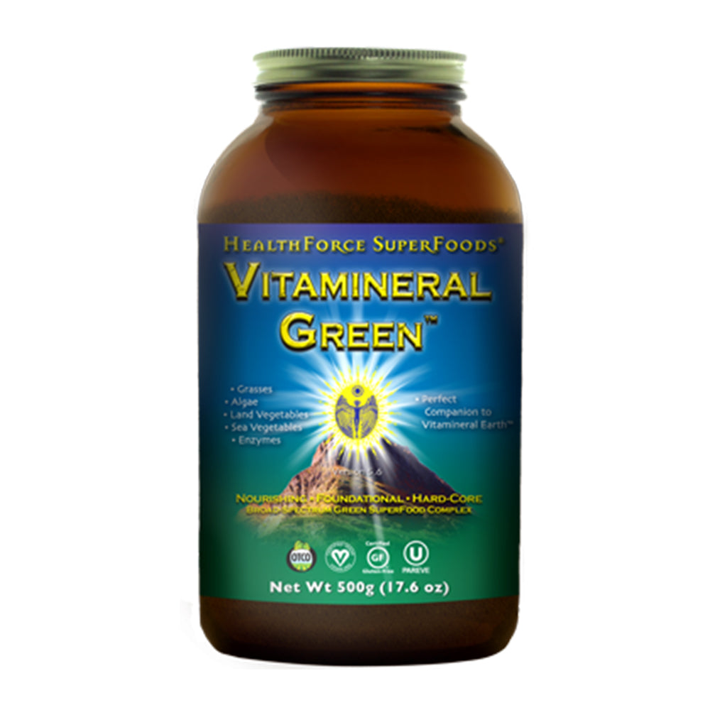 HealthForce Superfoods, Vitamineral Green, Version 5.5 (500g) - Hu Organics